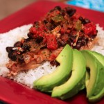 Crockpot Black Beans and Pork Chops | Country Girl Gourmet
