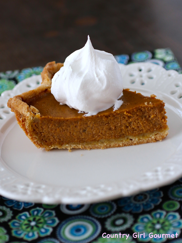 Gluten Free Pie Crust | Country Girl Gourmet