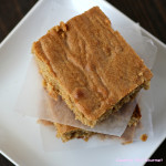Peanut Butter Blondie Brownies | Country Girl Gourmet