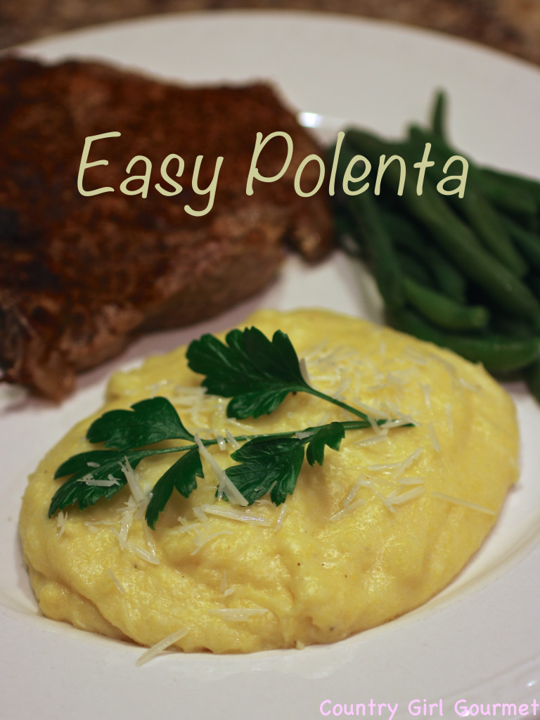 Easy Polenta | Country Girl Gourmet