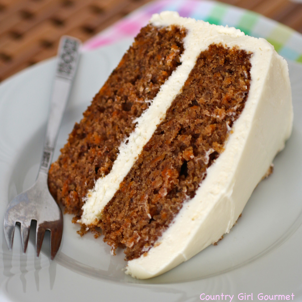 Carrot Cake with Cream Cheese Frosting * My Hot Southern Mess
