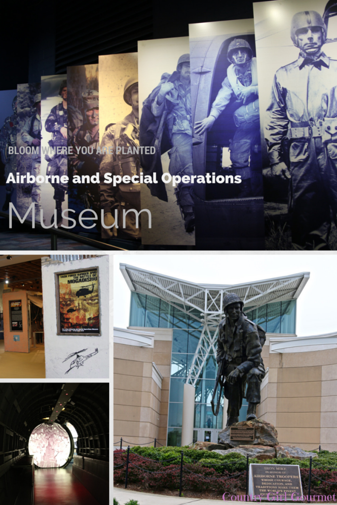Bloom Where You Are Planted- Airborne and Special Operations Museum