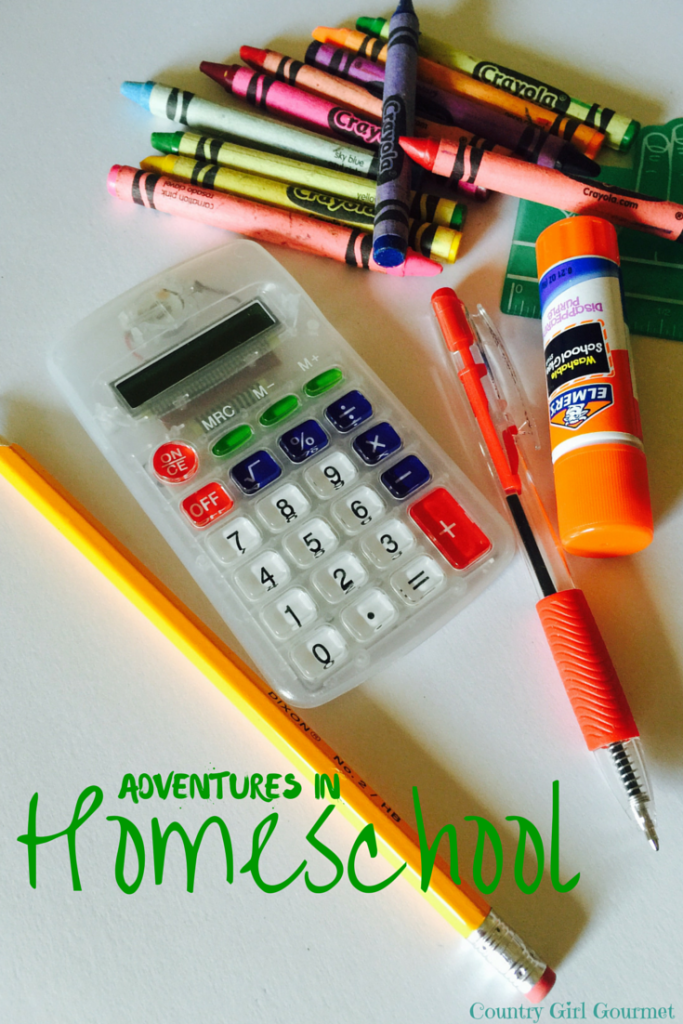 Adventures in Homeschool | Country Girl Gourmet