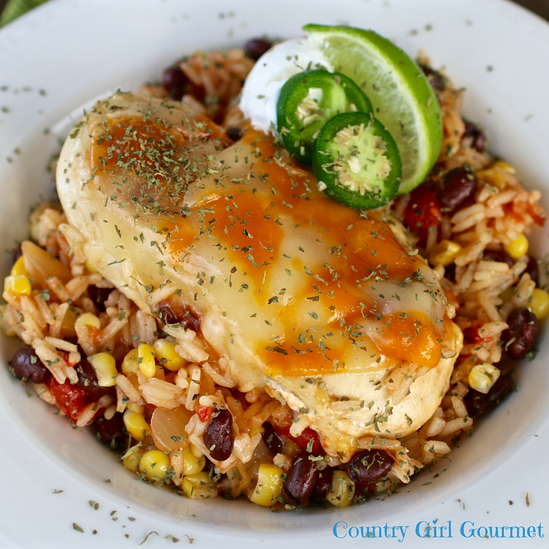 Santa Fe Chicken and Rice | Country Girl Gourmet