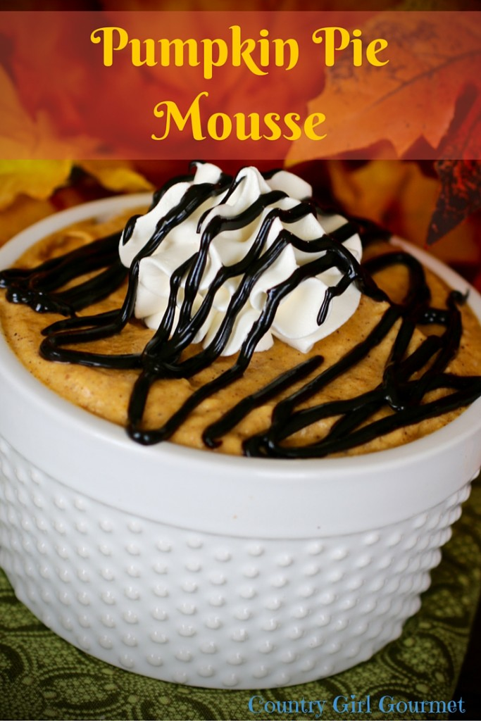 Pumpkin Pie Mousse | Country Girl Gourmet