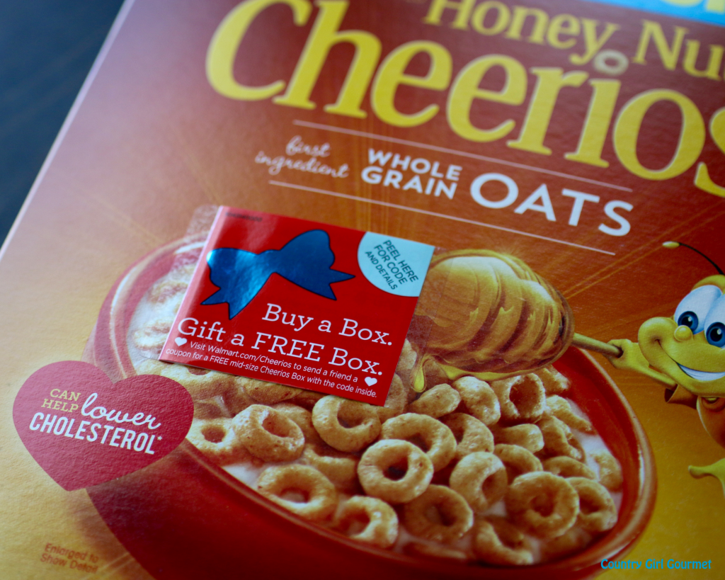 Brightening Days with Cheerios™ and the Give a Box Promotion | Country Girl Gourmet