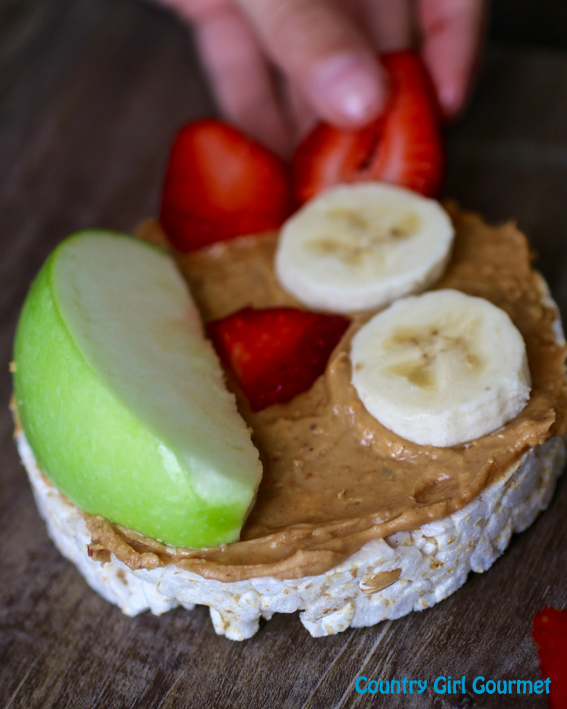 Peanut Butter Rice Cake Monsters | Country Girl Gourmet