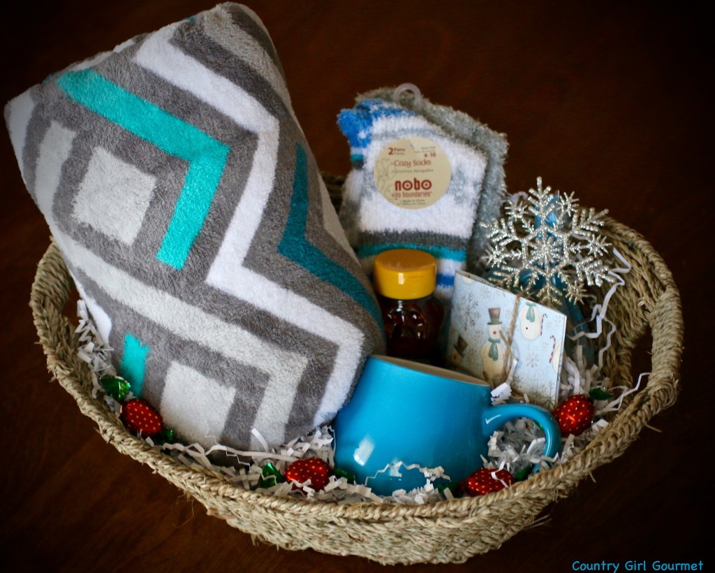 DIY Warm and Cozy Gift Basket | Country Girl Gourmet