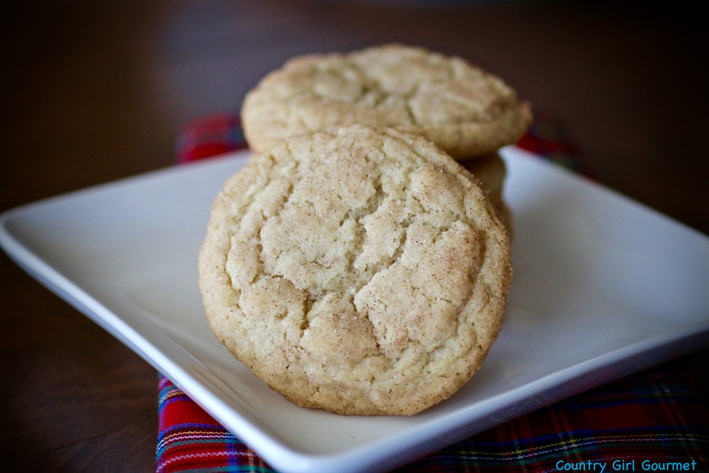 Classic Snickerdoodle Cookie | Country Girl Gourmet