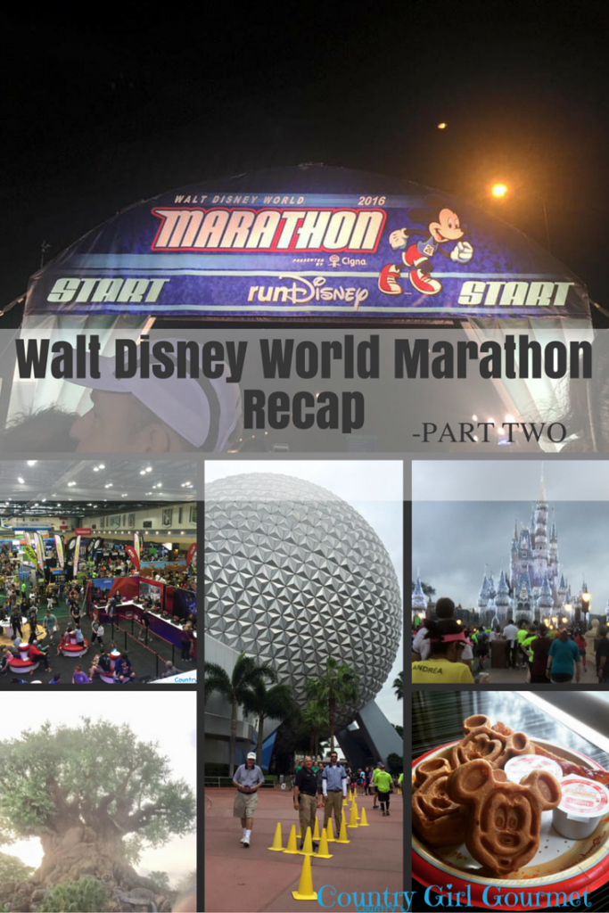 Walt Disney World Marathon Recap -Part Two