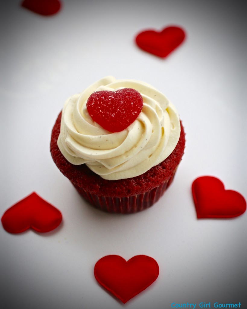 Gluten Free Red Velvet Cupcakes | Country Girl Gourmet