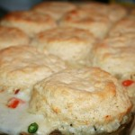 Chicken Pot Pie with a Biscuit Crust | Country Girl Gourmet