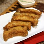 ritz country fried ribs with zest buttermilk ranch dressing