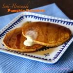 semi homemade pumpkin pancakes