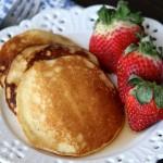 Gluten Free and Paleo Almond Flour Pancakes