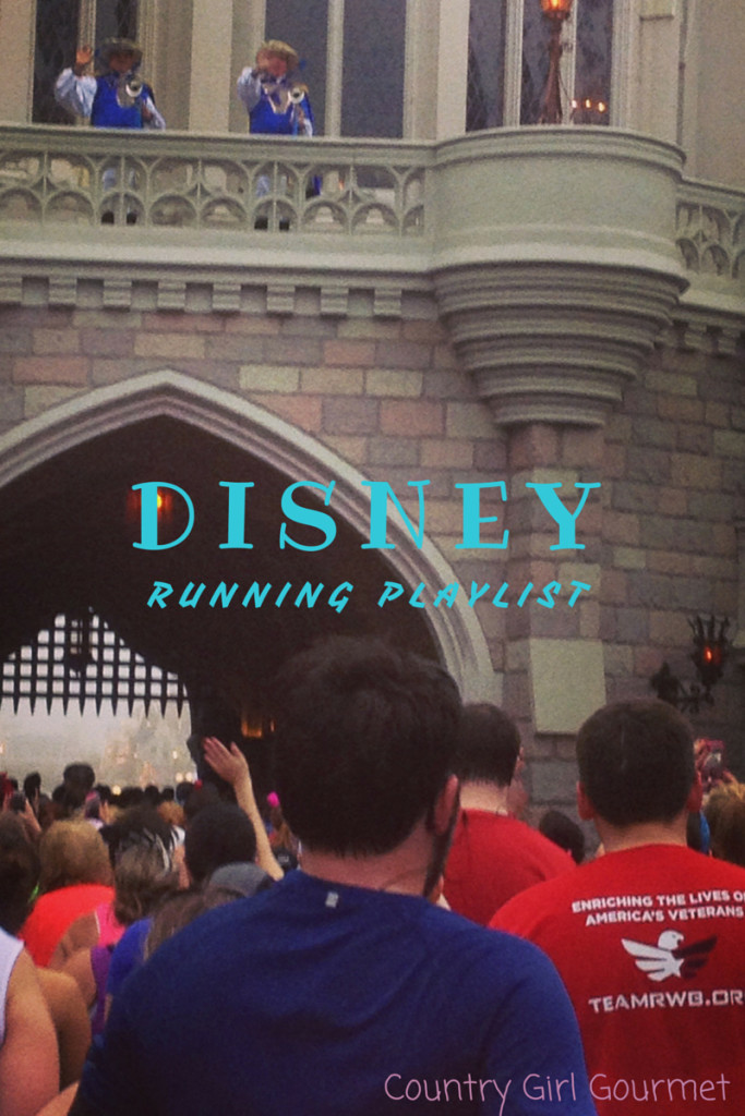 Disney Running Playlist