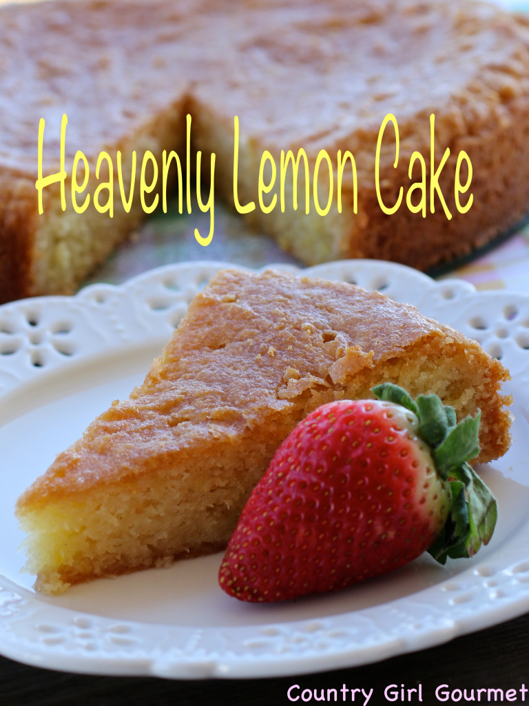 Heavenly Lemon Cake