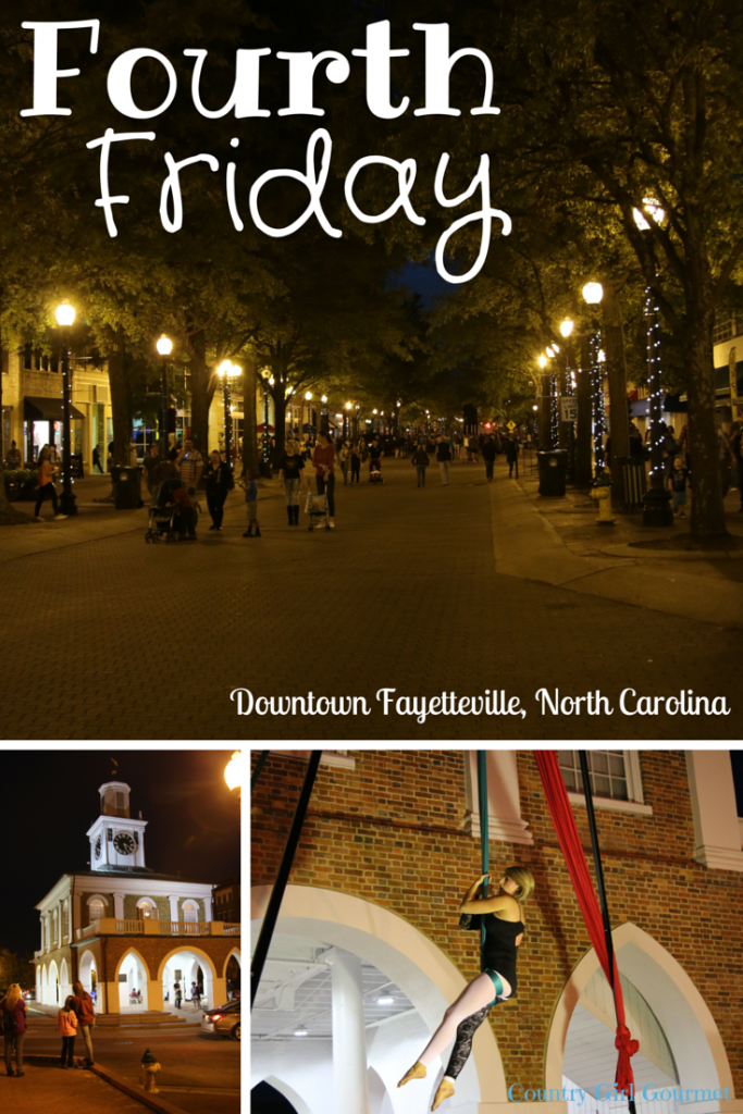Check out Fourth Friday in Downtown Fayetteville North Carolina!