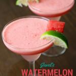 Watermelon Margarita | Country Girl Gourmet