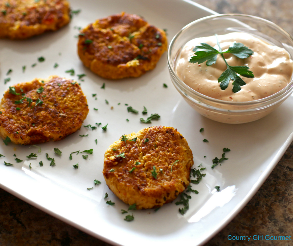 Squash Cakes |Country Girl Gourmet