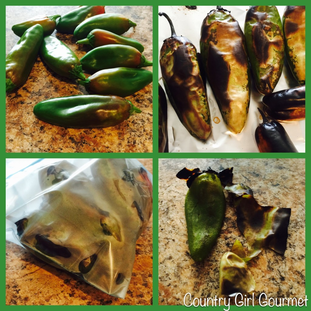 How to Roast Green Chile in a Broiler |Country Girl Gourmet