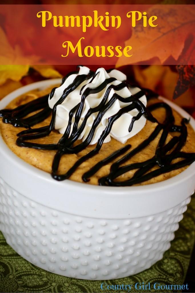 Pumpkin Pie Mousse   Country Girl Gourmet
