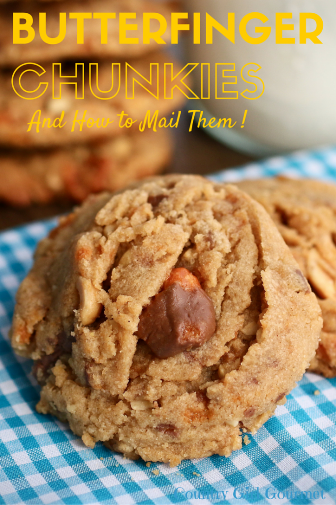 Butterfinger Chunkies | Country Girl Gourmet