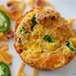 Cornbread Muffins with Cheddar, Jalapeño and Bacon | Country Girl Gourmet