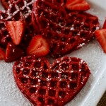 Gluten Free Red Velvet Waffles | Country Girl Gourmet