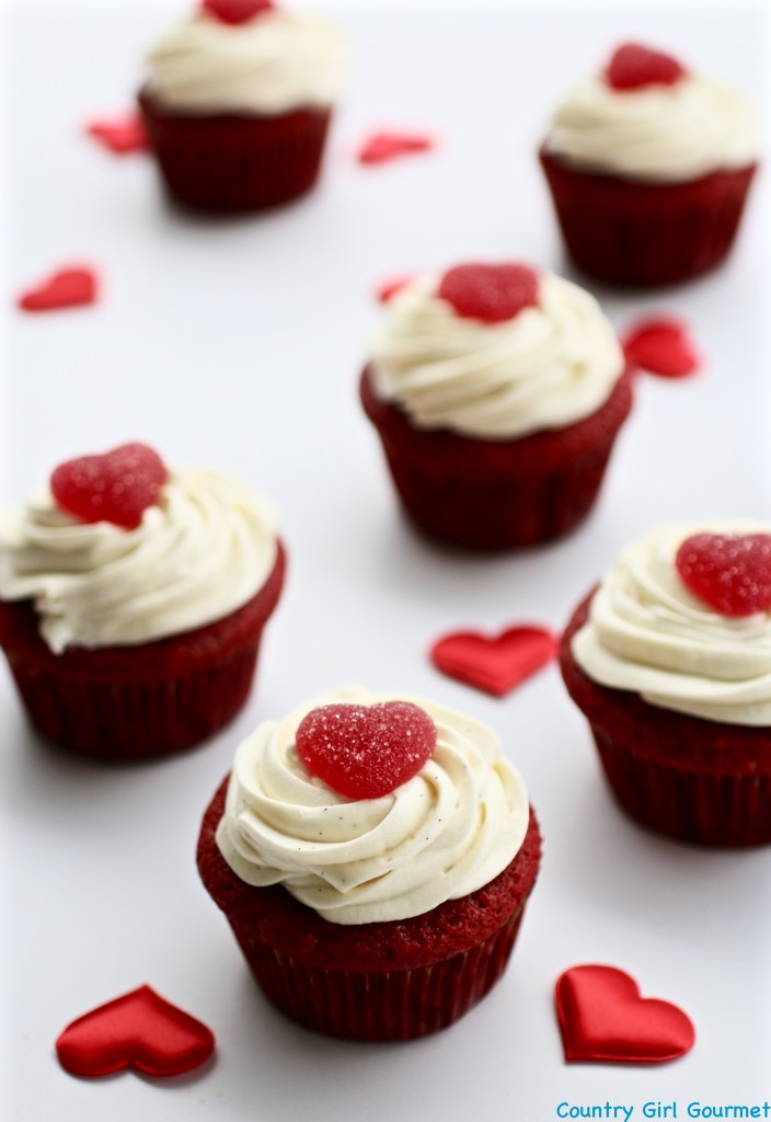 Gluten Free Red Velvet Cupcakes | Country Girl Gourmet